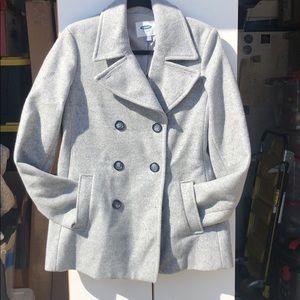 Old Navy Lined Pea Coat / Peacoat